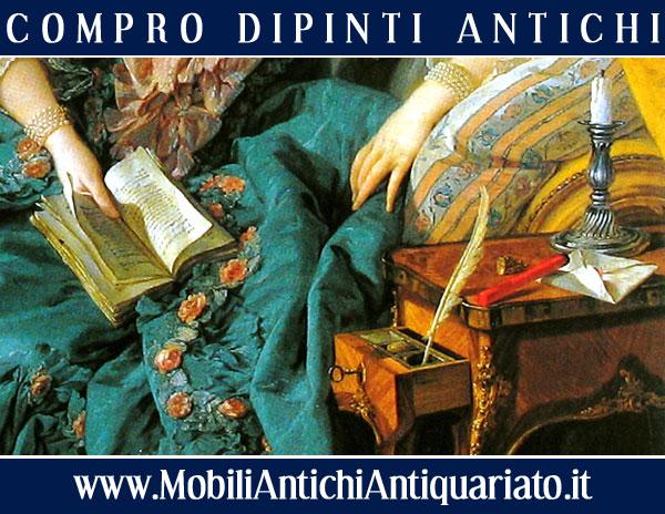 compro quadri antichi antiquariato