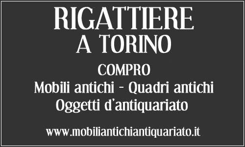 Rigattiere Torino Antiquario Compro Vendo Antiquariato Mobili ...