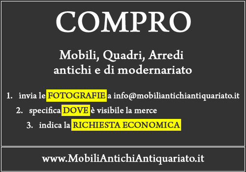 Beautiful antiquariato on line contemporary for Compro mobili antichi