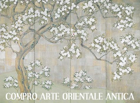 compro arte orientale cinese giapponese antica antiquariato estremo oriente