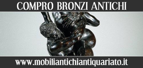 compro bronzi antichi acquisto antiquariato