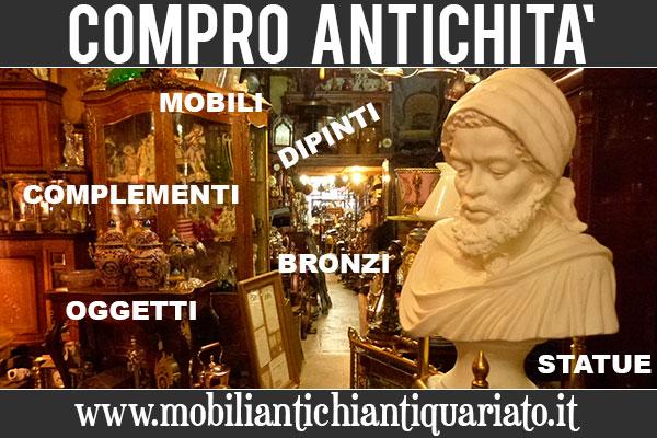Compro vendo antichit quadri antichi dipinti bronzi for Compro quadri contemporanei